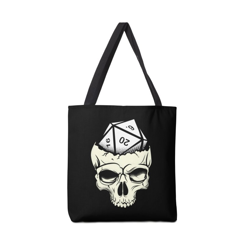 White Die of Death Accessories Tote Bag Bag by March1Studios on Threadless