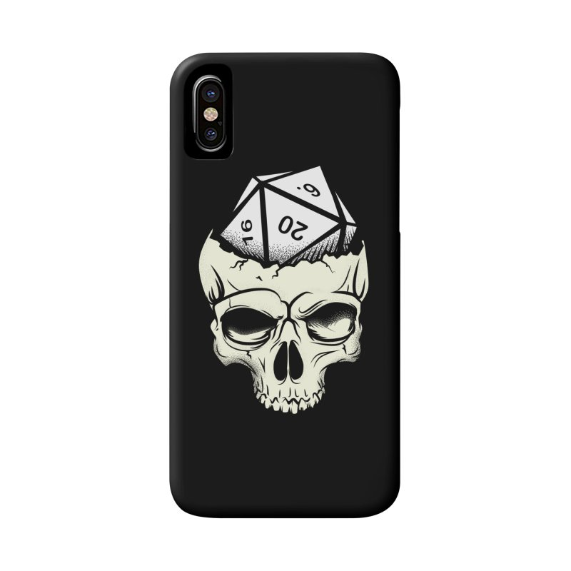 White Die of Death Accessories Phone Case by March1Studios on Threadless