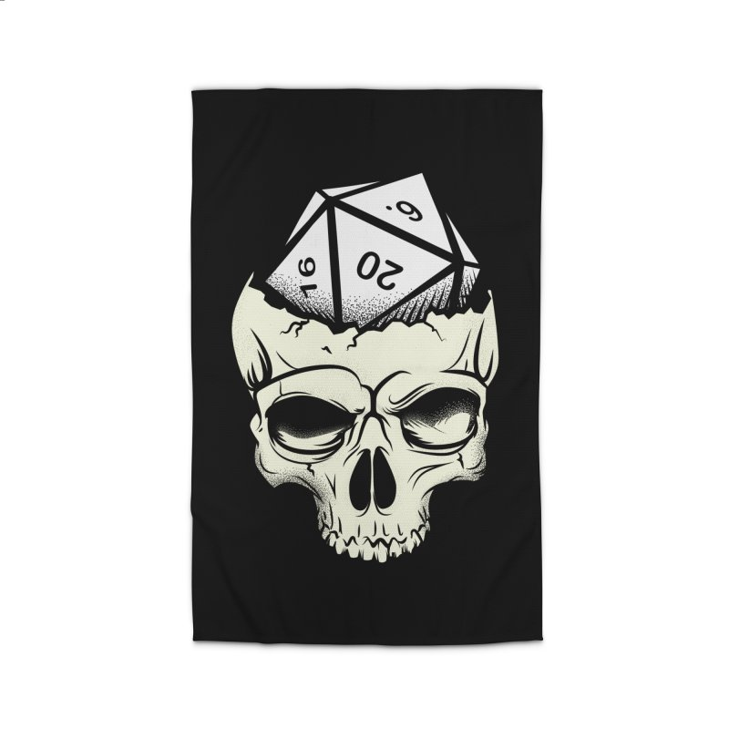 White Die of Death Home Rug by March1Studios on Threadless