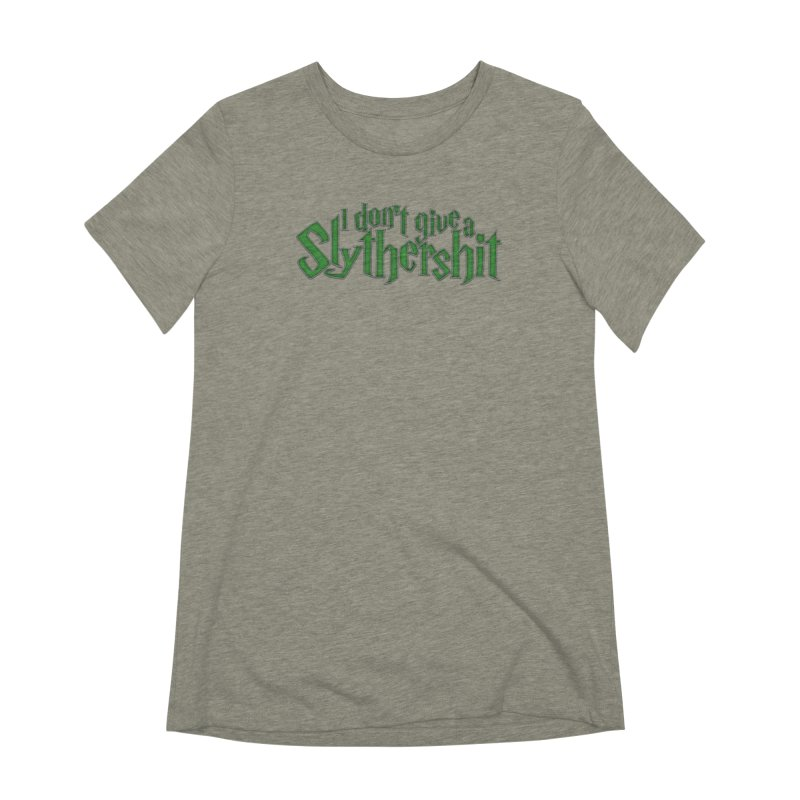 I Don't Give A Slythershit Women's Extra Soft T-Shirt by March1Studios on Threadless