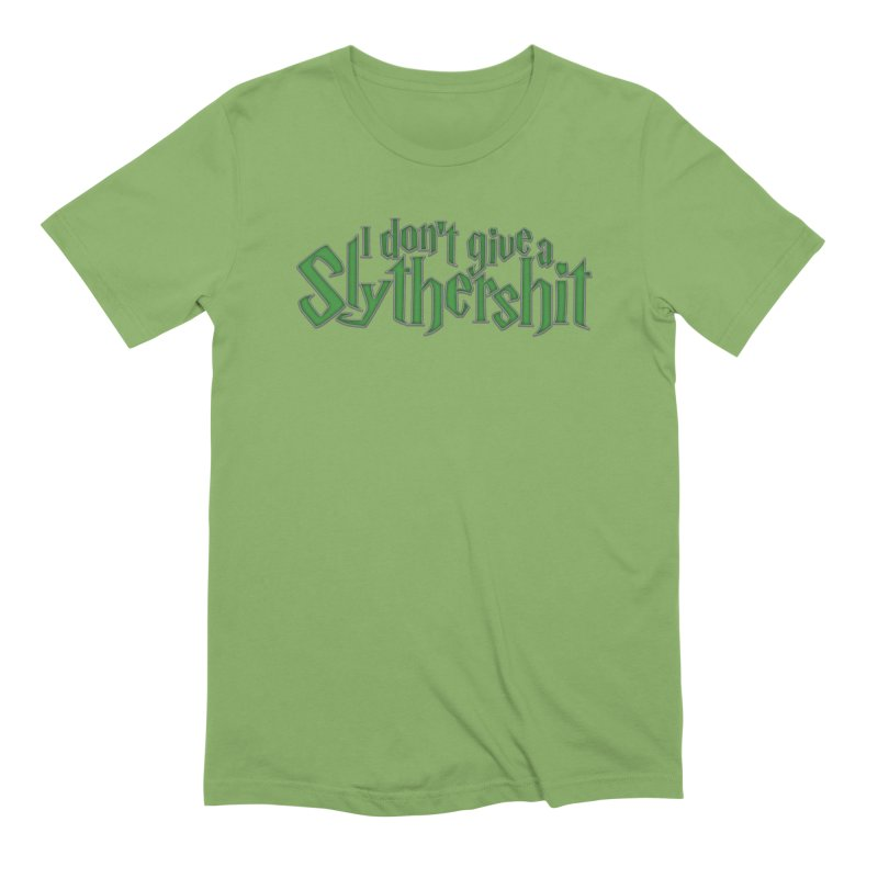 I Don't Give A Slythershit Men's Extra Soft T-Shirt by March1Studios on Threadless