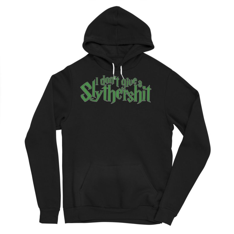 I Don't Give A Slythershit Men's Sponge Fleece Pullover Hoody by March1Studios on Threadless