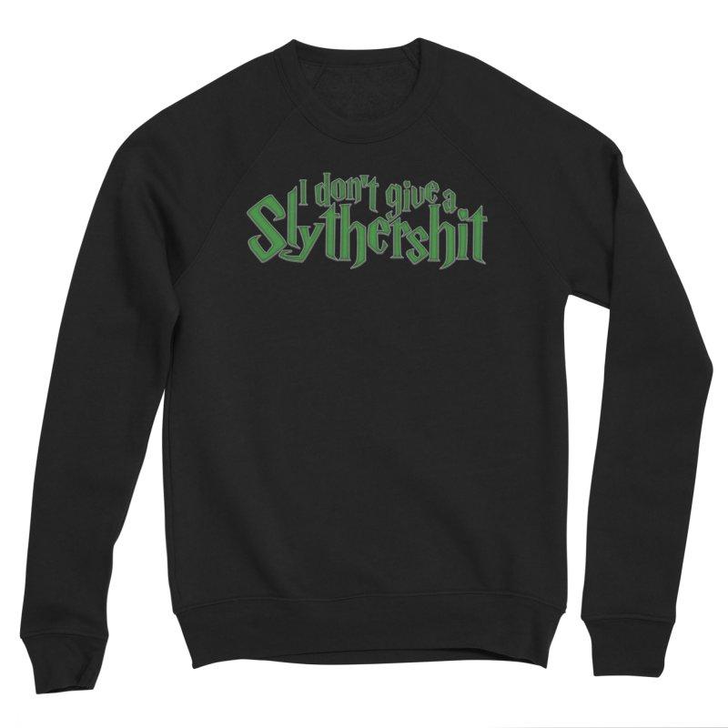 I Don't Give A Slythershit Men's Sponge Fleece Sweatshirt by March1Studios on Threadless
