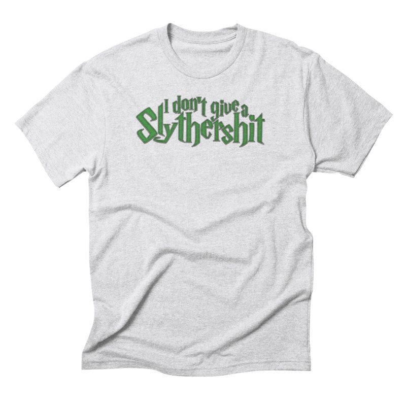 I Don't Give A Slythershit Men's Triblend T-Shirt by March1Studios on Threadless