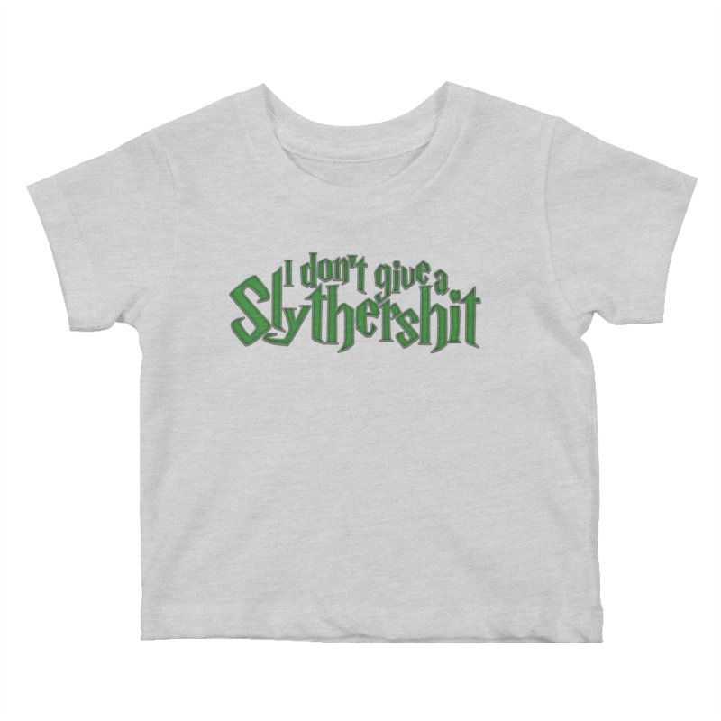 I Don't Give A Slythershit Kids Baby T-Shirt by March1Studios on Threadless