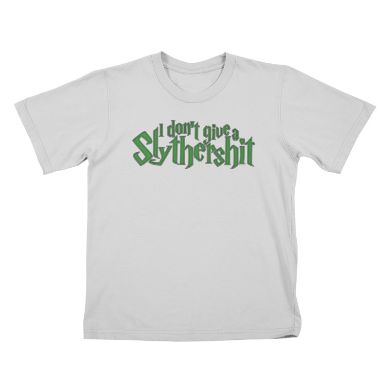 I Don't Give A Slythershit Kids T-Shirt by March1Studios on Threadless