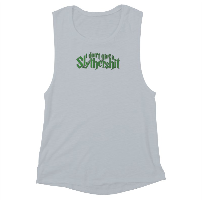 I Don't Give A Slythershit Women's Muscle Tank by March1Studios on Threadless