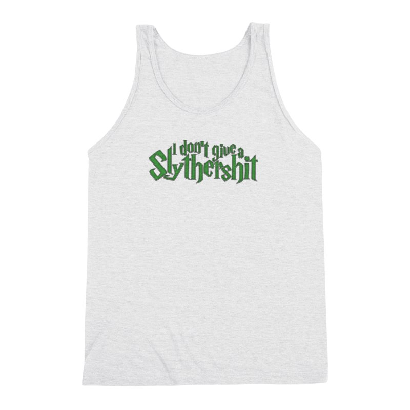 I Don't Give A Slythershit Men's Triblend Tank by March1Studios on Threadless
