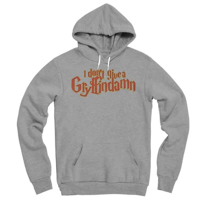 I Don't Give A Gryffindamn Men's Sponge Fleece Pullover Hoody by March1Studios on Threadless