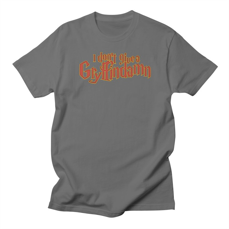 I Don't Give A Gryffindamn Men's T-Shirt by March1Studios on Threadless