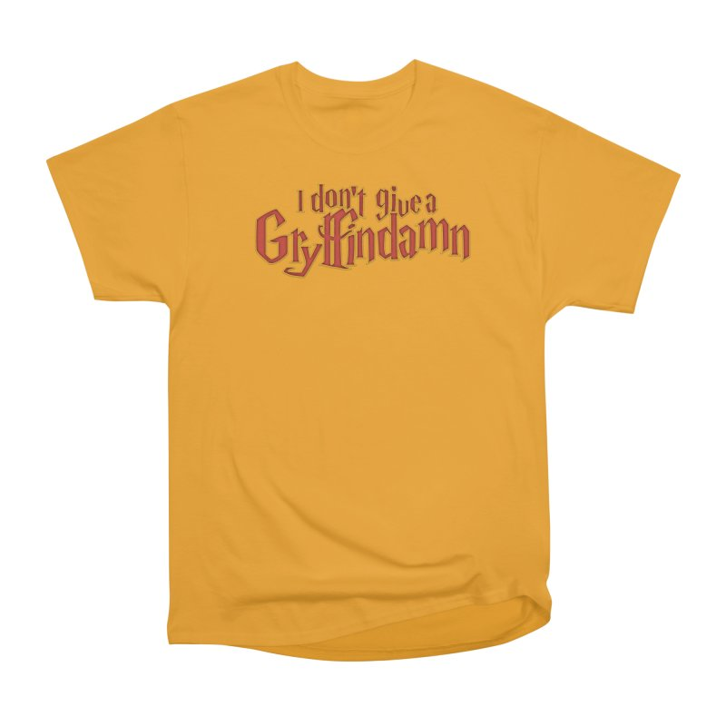 I Don't Give A Gryffindamn Men's Heavyweight T-Shirt by March1Studios on Threadless