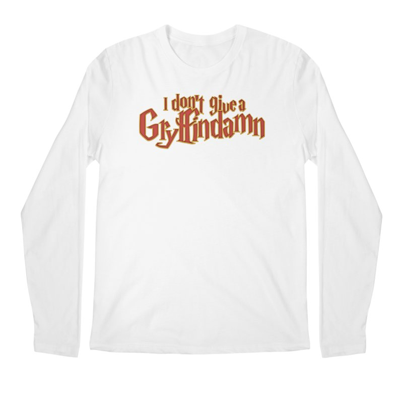 I Don't Give A Gryffindamn Men's Regular Longsleeve T-Shirt by March1Studios on Threadless