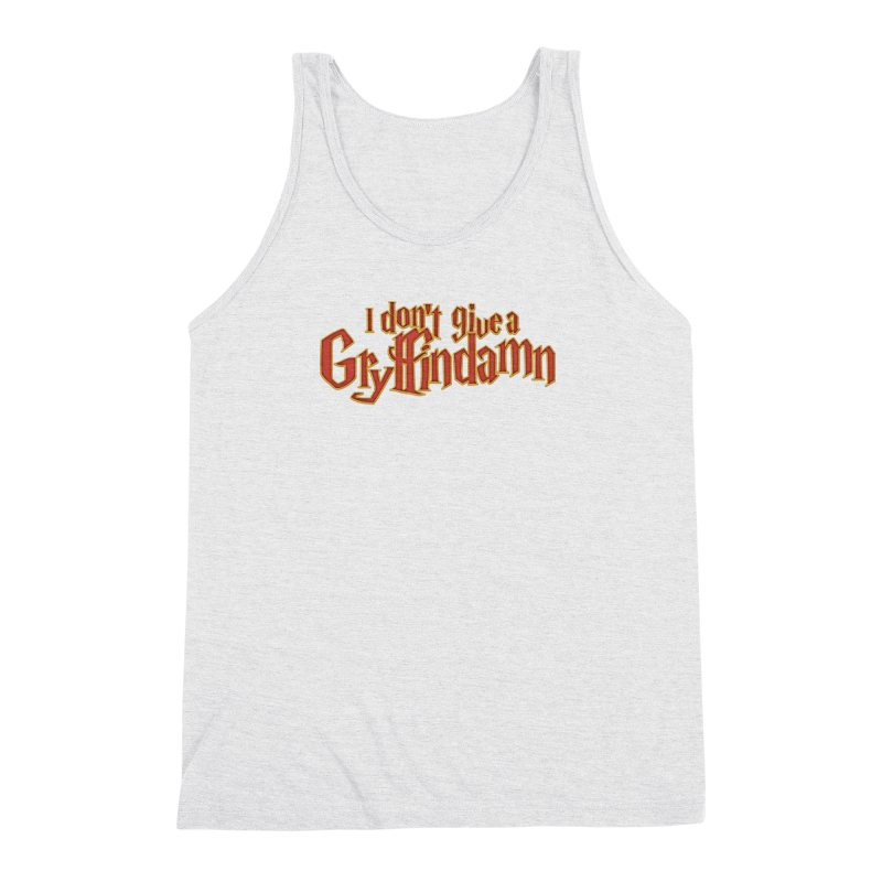 I Don't Give A Gryffindamn Men's Triblend Tank by March1Studios on Threadless