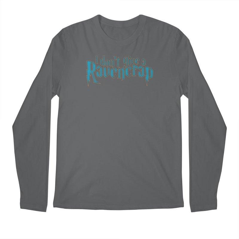 I Don't Give A Ravencrap Men's Regular Longsleeve T-Shirt by March1Studios on Threadless