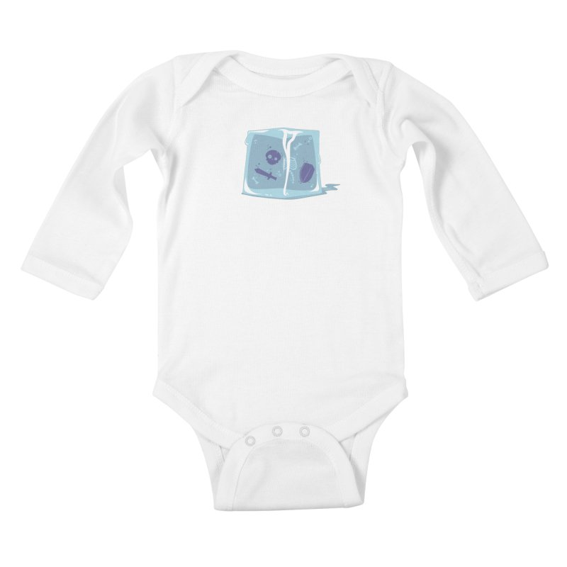 Gelatinous Cute Kids Baby Longsleeve Bodysuit by March1Studios on Threadless