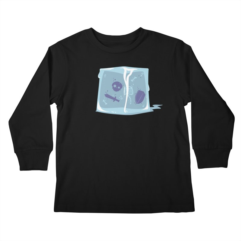 Gelatinous Cute Kids Longsleeve T-Shirt by March1Studios on Threadless