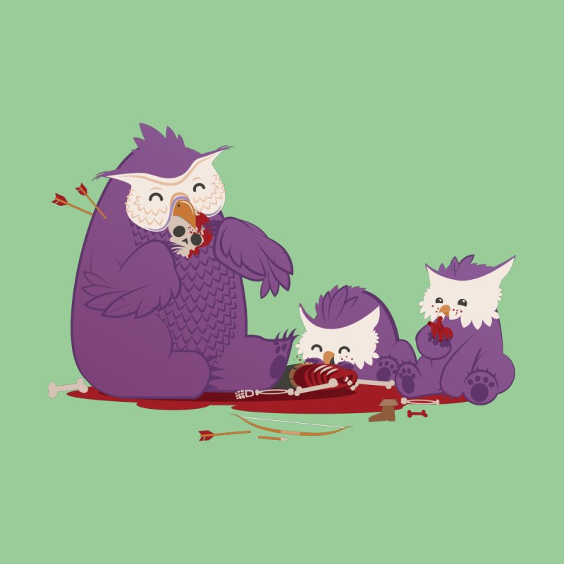 Owlbear Picnic Men's Sweatshirt by March1Studios on Threadless