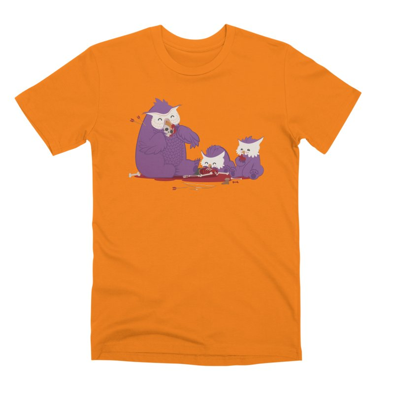 Owlbear Picnic Men's T-Shirt by March1Studios on Threadless