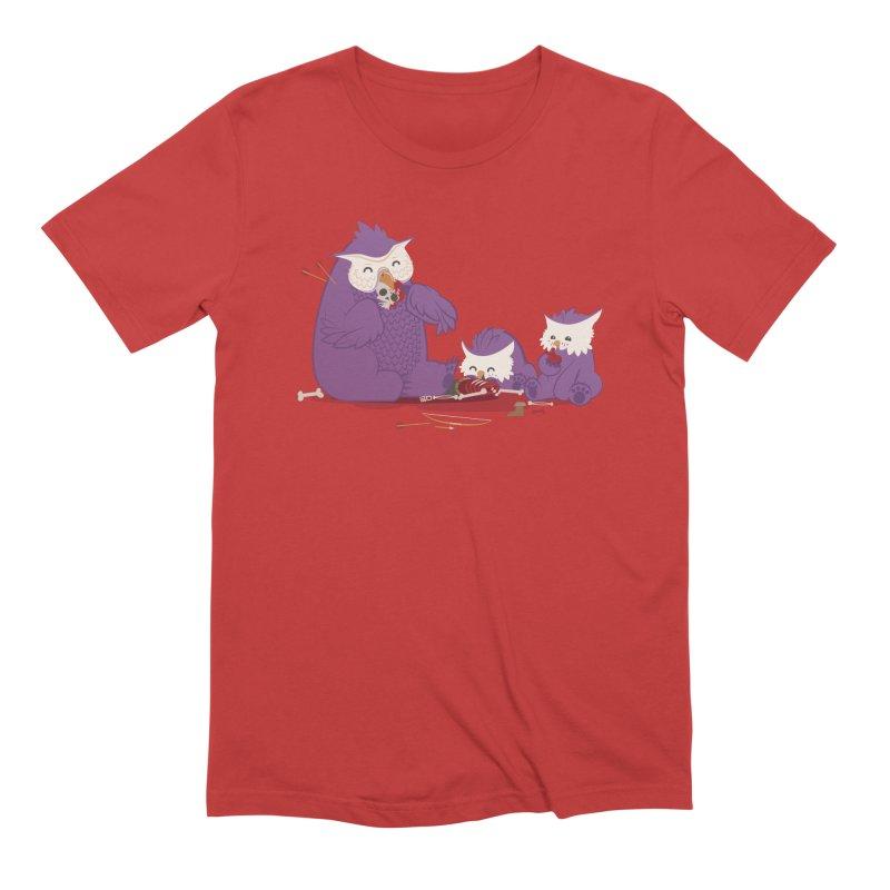 Owlbear Picnic Men's Extra Soft T-Shirt by March1Studios on Threadless