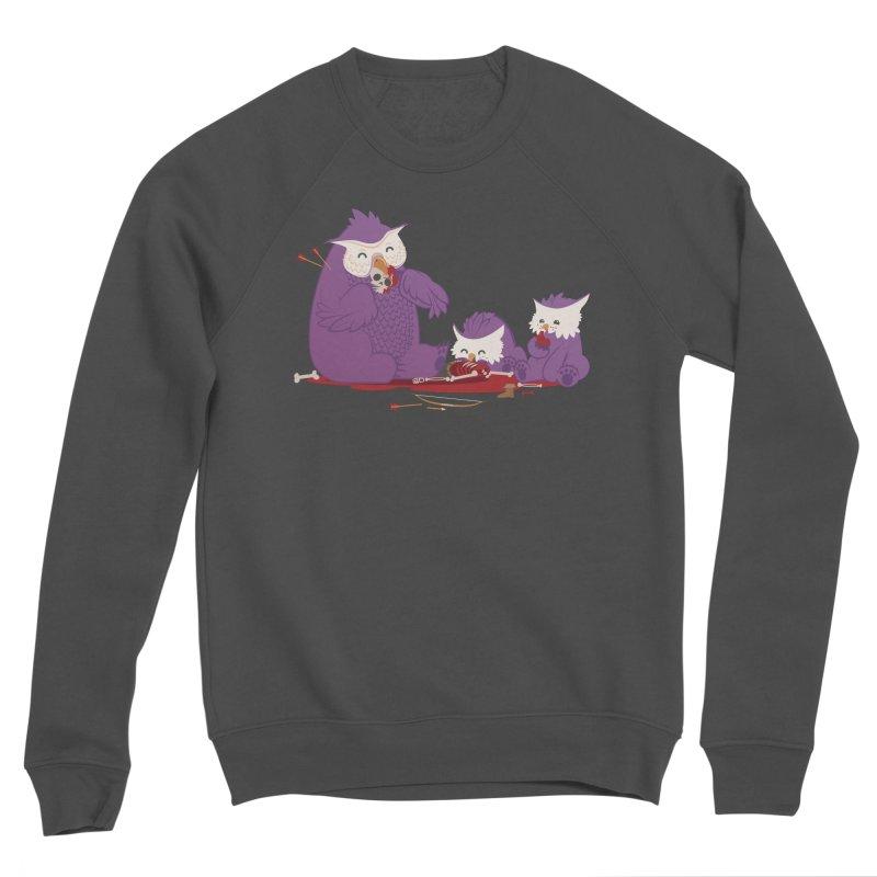 Owlbear Picnic Men's Sponge Fleece Sweatshirt by March1Studios on Threadless