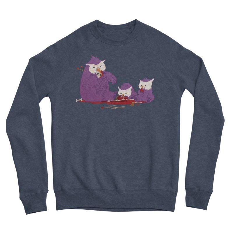 Owlbear Picnic Women's Sponge Fleece Sweatshirt by March1Studios on Threadless