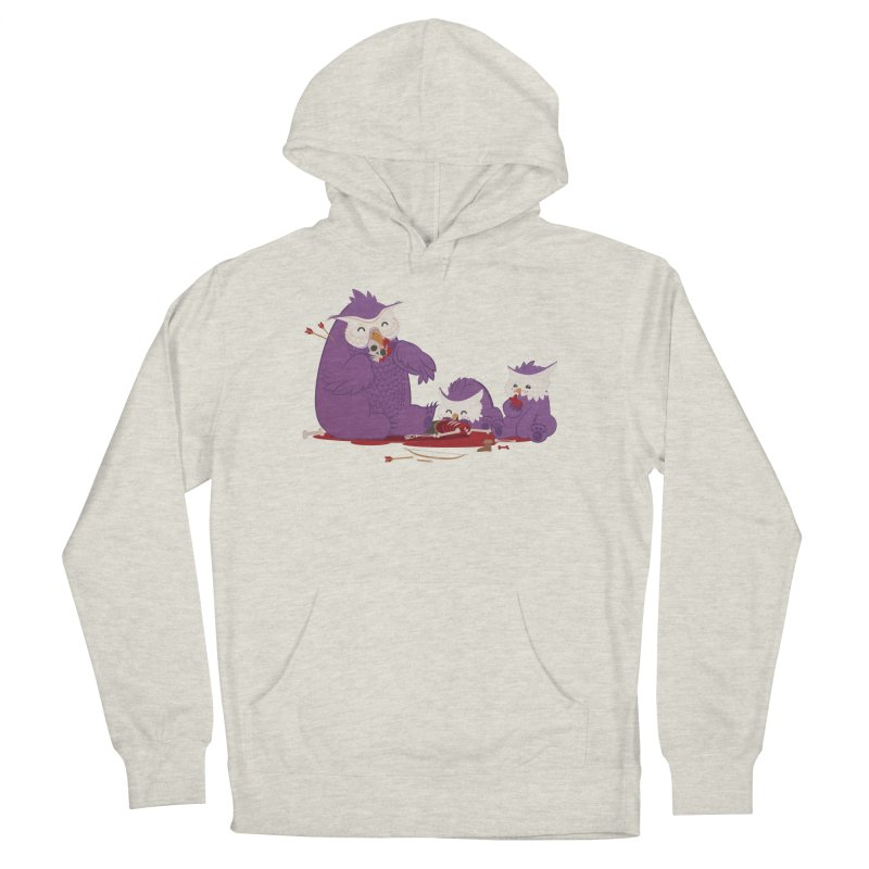 Owlbear Picnic Men's French Terry Pullover Hoody by March1Studios on Threadless