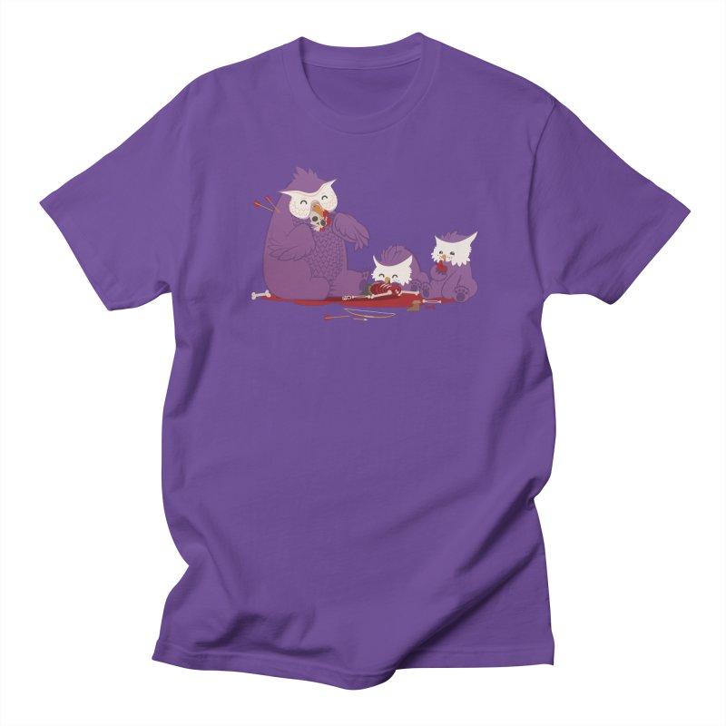Owlbear Picnic Women's Regular Unisex T-Shirt by March1Studios on Threadless