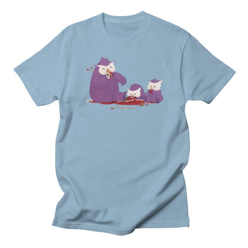 Owlbear Picnic Men's T-Shirt by March1Studios on Threadless