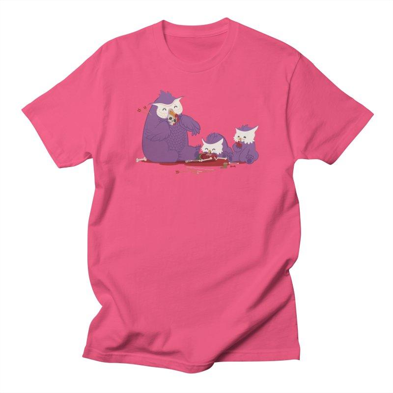 Owlbear Picnic Men's Regular T-Shirt by March1Studios on Threadless