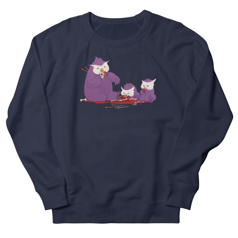 Owlbear Picnic Men's French Terry Sweatshirt by March1Studios on Threadless