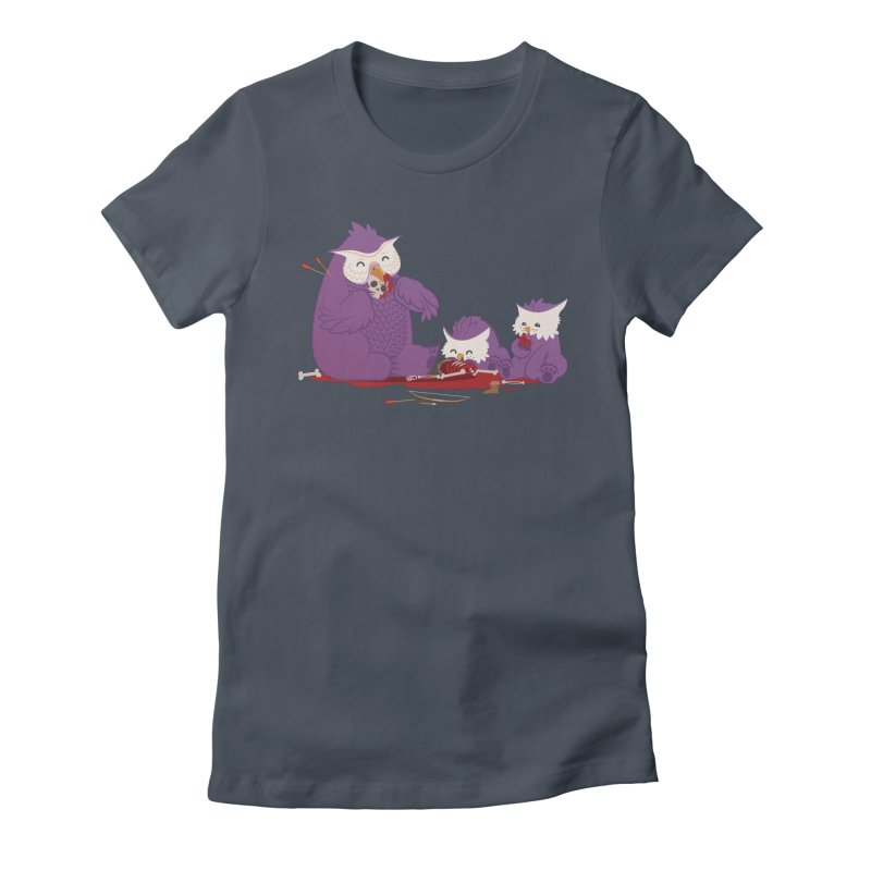 Owlbear Picnic Women's T-Shirt by March1Studios on Threadless