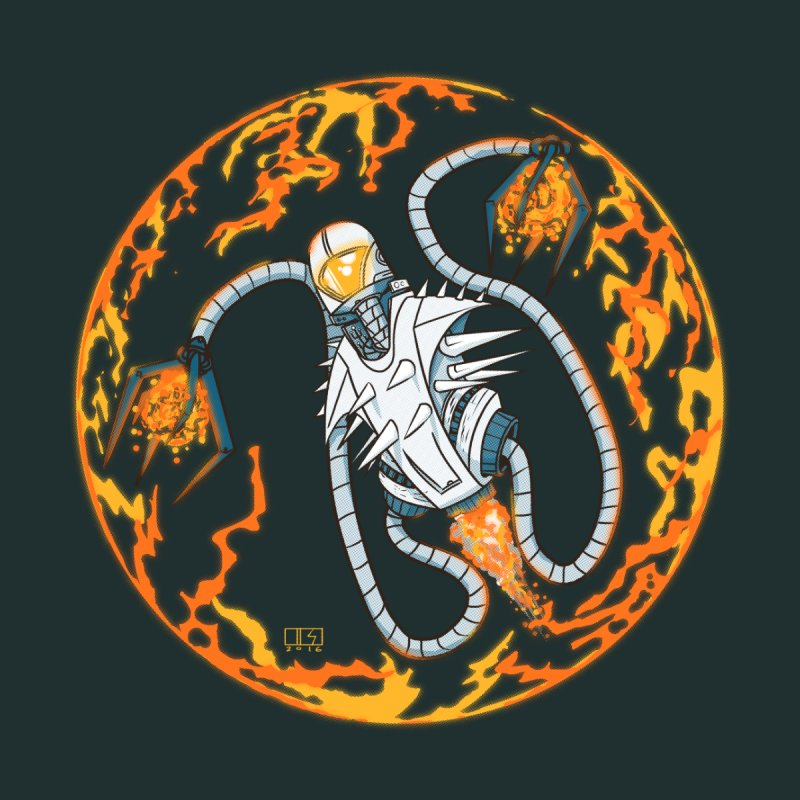 Fireball by March1Studios on Threadless