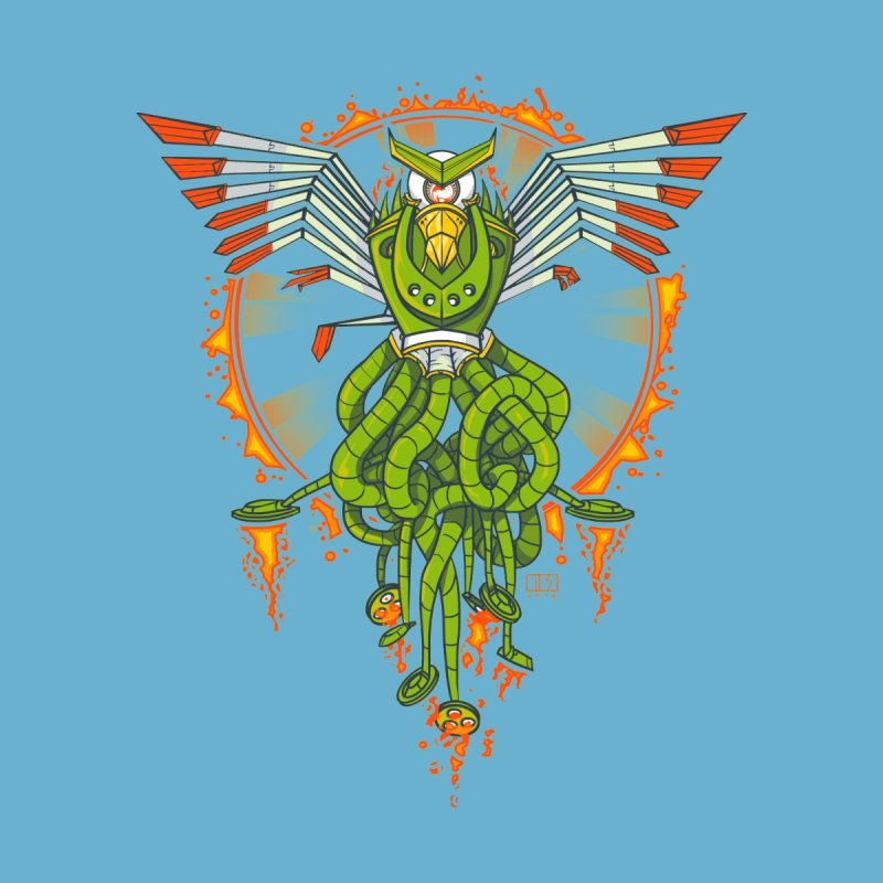 Hawktopus Men's T-Shirt by March1Studios on Threadless
