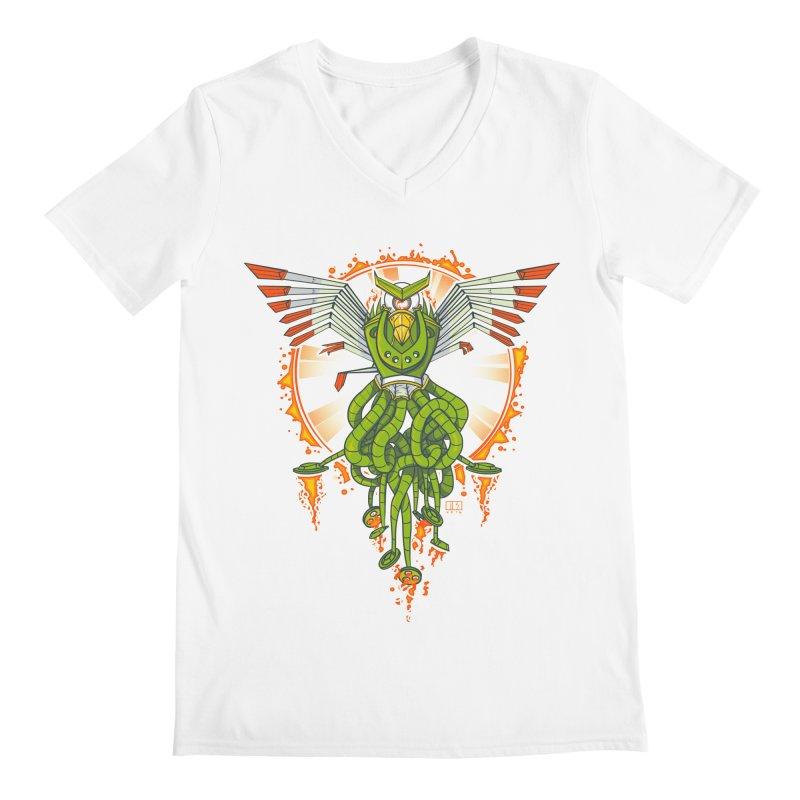 Hawktopus Men's V-Neck by March1Studios on Threadless