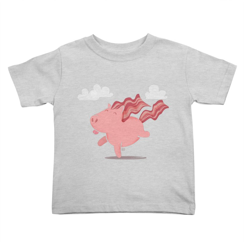 Bacon Horse Kids Toddler T-Shirt by march1studios's Artist Shop