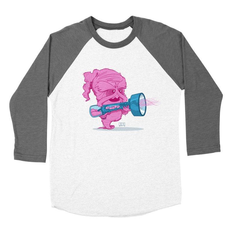 Cotton Candy Monster Women's Baseball Triblend T-Shirt by march1studios's Artist Shop