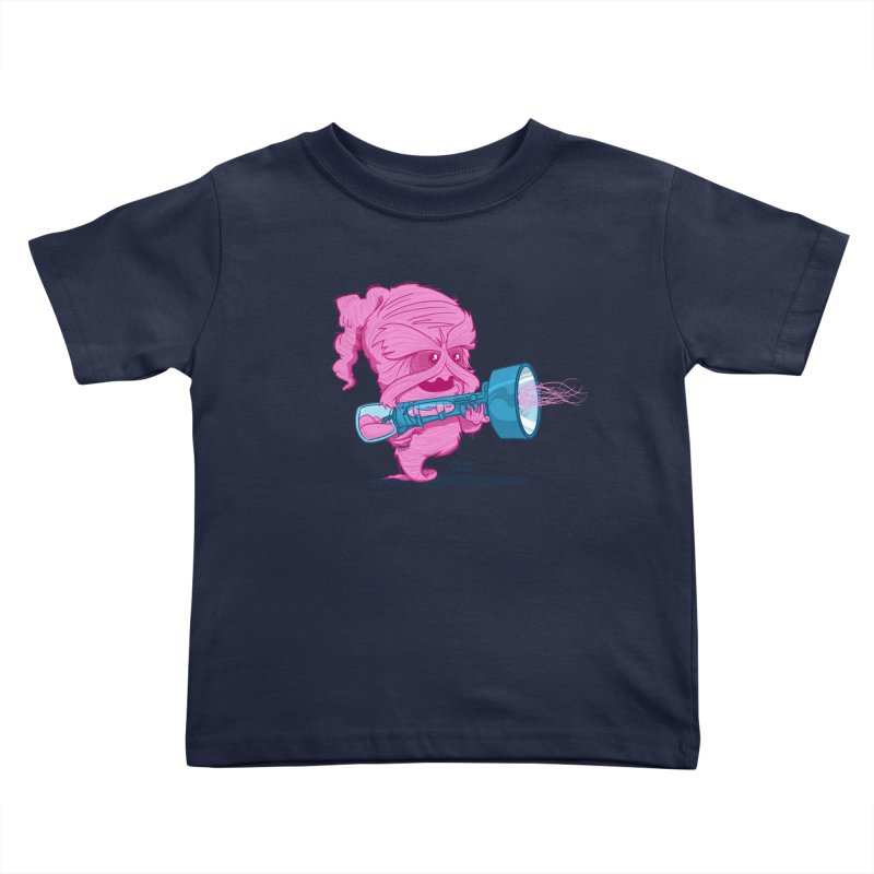Cotton Candy Monster Kids Toddler T-Shirt by march1studios's Artist Shop