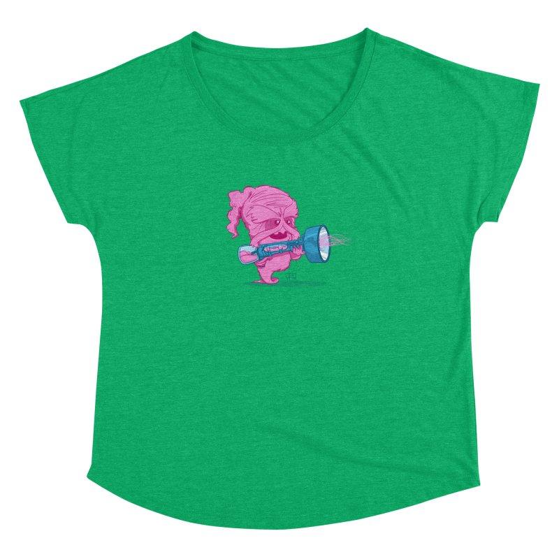 Cotton Candy Monster Women's Dolman by march1studios's Artist Shop