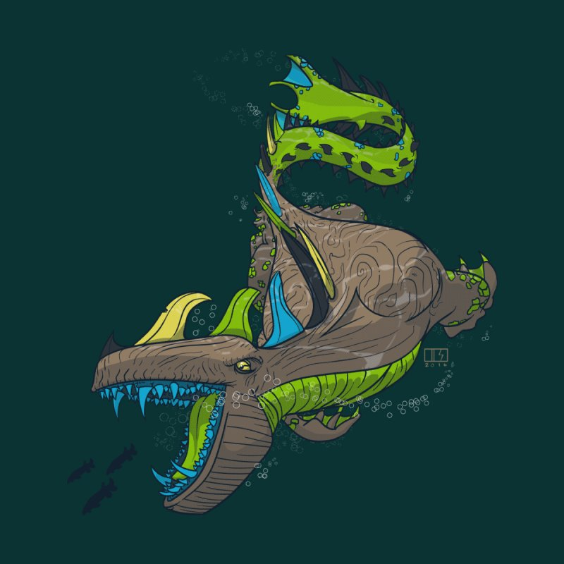 Riptide Kids T-Shirt by March1Studios on Threadless