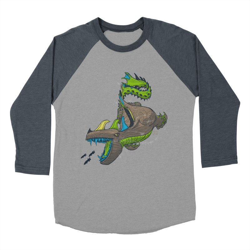 Riptide Women's Baseball Triblend T-Shirt by march1studios's Artist Shop
