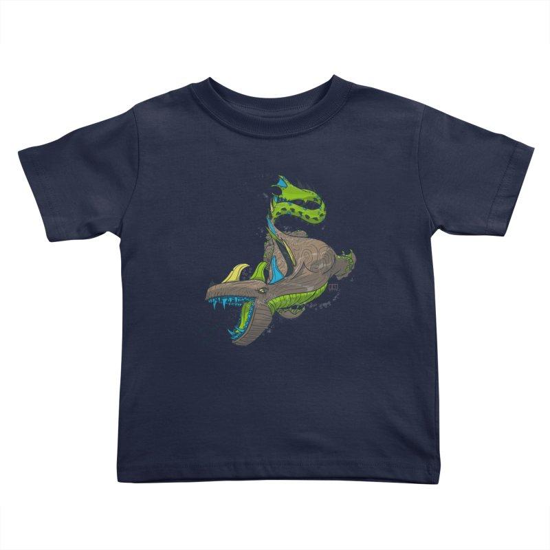 Riptide Kids Toddler T-Shirt by march1studios's Artist Shop