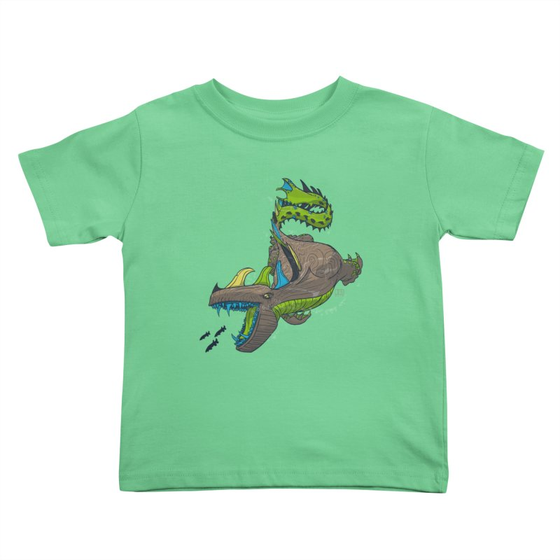 Riptide Kids Toddler T-Shirt by march1studios's Artist Shop