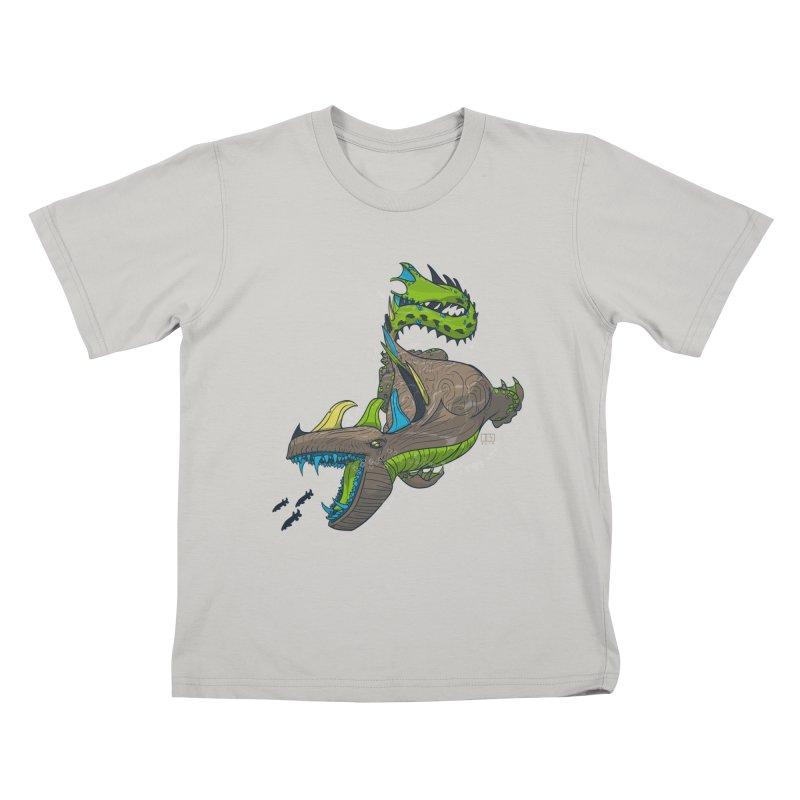 Riptide Kids T-shirt by march1studios's Artist Shop
