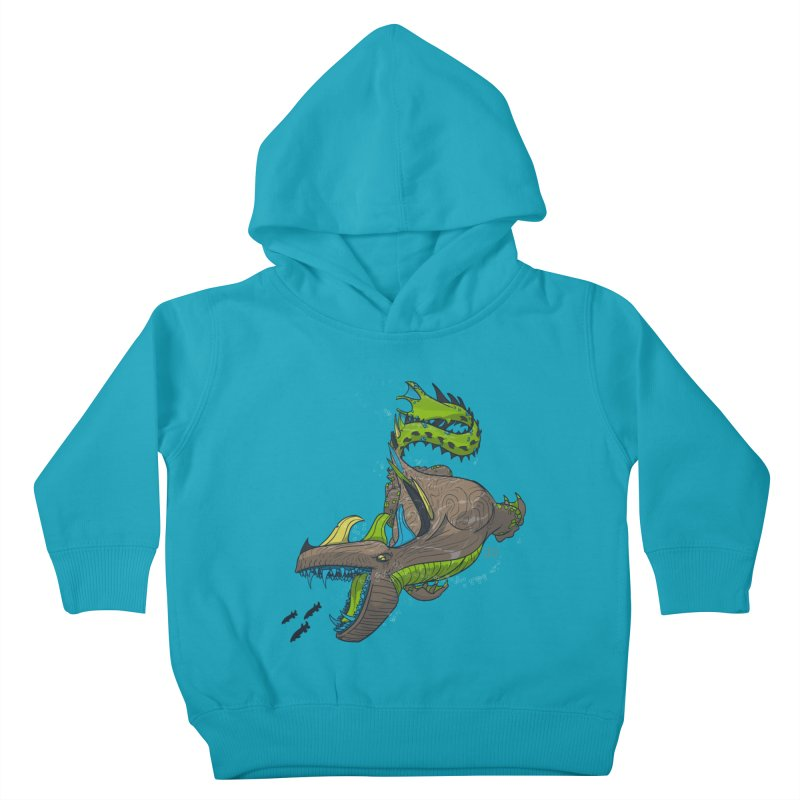 Riptide Kids Toddler Pullover Hoody by march1studios's Artist Shop