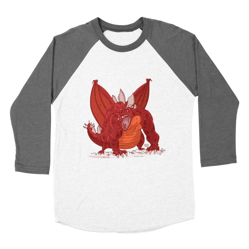 Dragonnate Women's Baseball Triblend T-Shirt by march1studios's Artist Shop