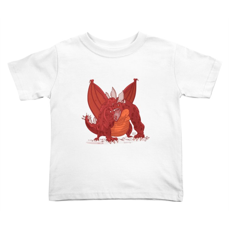 Dragonnate Kids Toddler T-Shirt by march1studios's Artist Shop