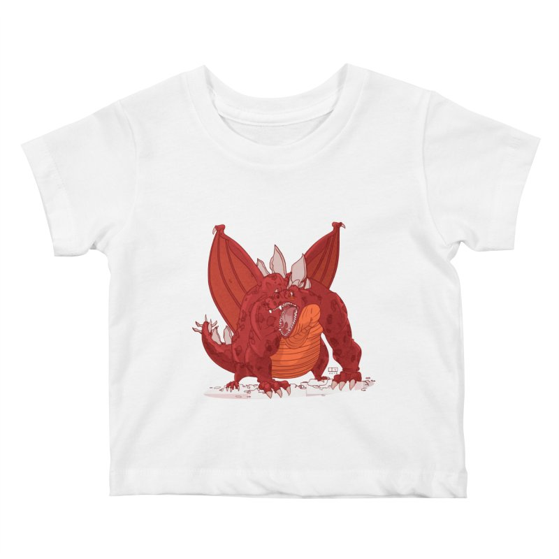 Dragonnate Kids Baby T-Shirt by march1studios's Artist Shop