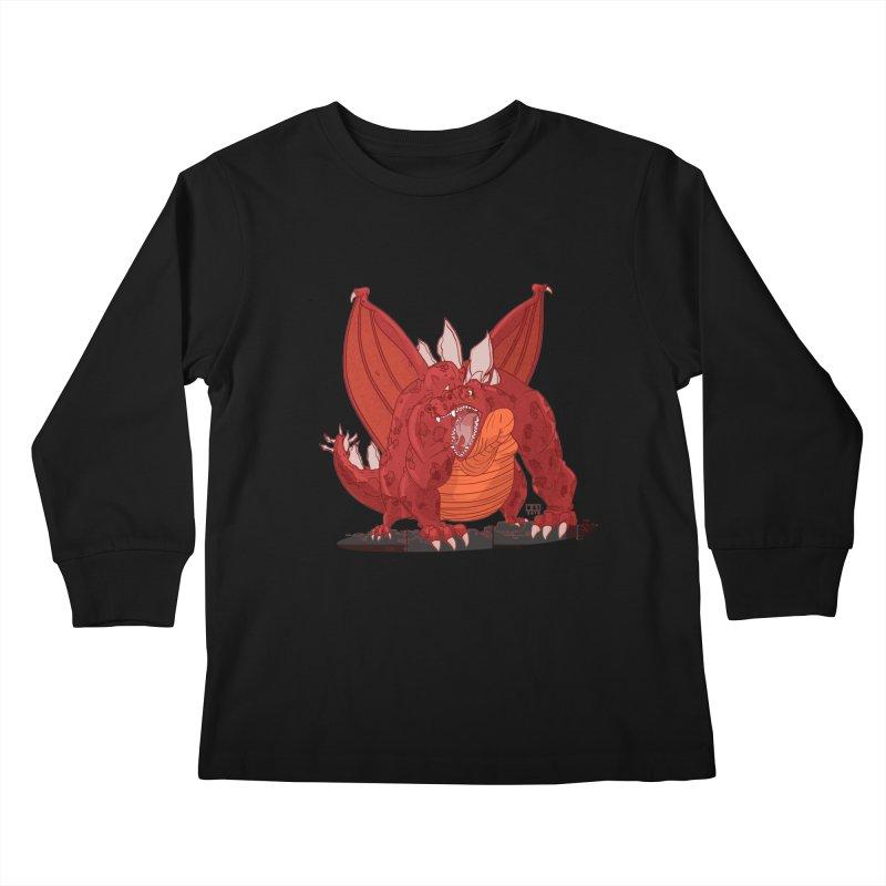 Dragonnate Kids Longsleeve T-Shirt by march1studios's Artist Shop