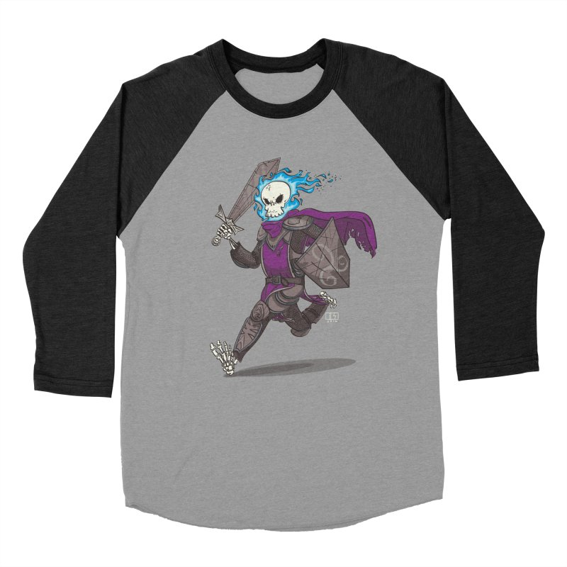 The Late Death Knight Women's Baseball Triblend T-Shirt by march1studios's Artist Shop