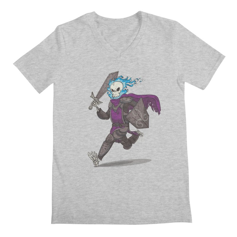 The Late Death Knight Men's V-Neck by march1studios's Artist Shop